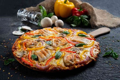 Rooster Fungi Pizza (Large)