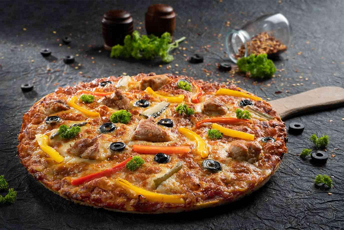 Shawarma Street Pizza (Large)