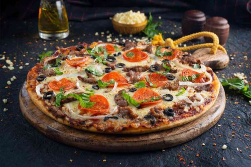Beef Overload Pizza (Large)