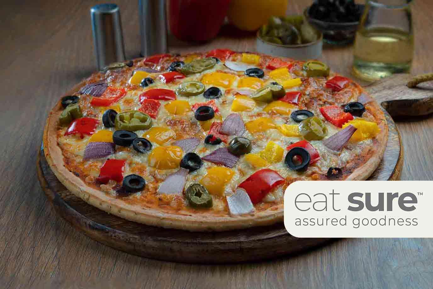Veg Overload Pizza (11 Inch)