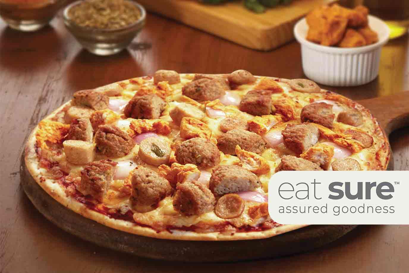 Non-veg Paradise Pizza (11 Inch)