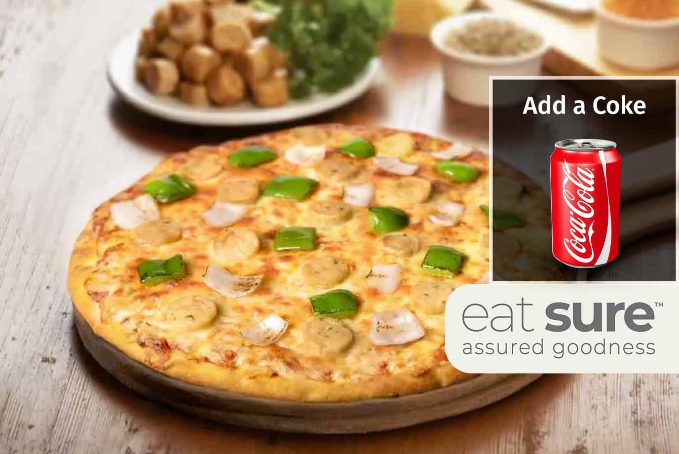 Smoked Chicken Sausage Pizza (11 Inch)